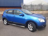 2007(57)NISSAN QASHQAI 1.6 TEKNA 2WD MET BLUE,BIG SPEC,CLEAN CAR,GREAT VALUE