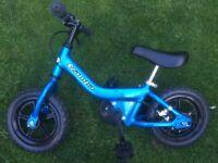 Balance Bike- Pedibal Scampa which converts to a pedal bike