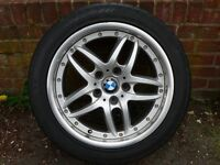 BMW E39 Alloy Wheel (style 71) + Conti SportsContact 235/45 R17