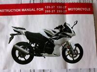 SKYJET 125CC MOTORCYCLE