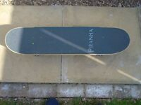 NEARLY NEW PIRANHA SKATE BOARD