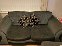 Lounge sofa and two seater