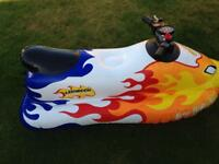 Kids blow up jet ski