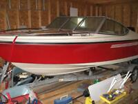 17 1/2 FT SUNLINER W/TRAILER AND 115 HP MERCURY MOTOR & SS PROP