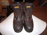 DeWalt Steel Toe Safety Work Boots Size 11