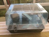 Small / Medium Sized Rodent Cage + Accessories