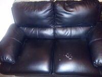 Black leader sofa