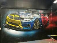Airbrush artist,mural arts ,graffiti and more..