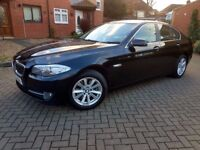 New Shape 2010 BMW 5 Series 520D 2.0L F10 Diesel Manual Brown Leather Not Auto 530D 525D 320D A6 2 L
