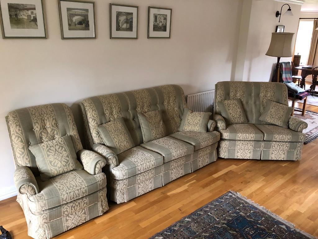 Parker Knoll Sofa Set 3 Seater 2 1