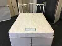 Seally Posturepedic 4ft 6 divan bed (FREE DELIVERY)