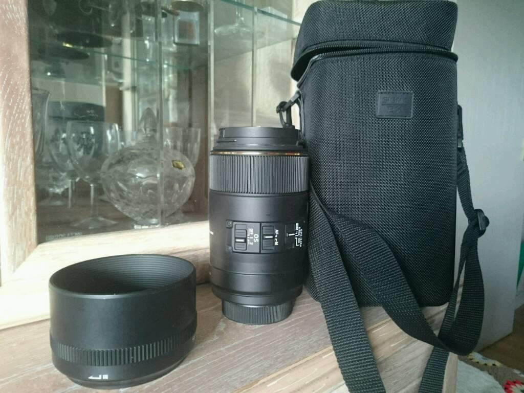 Sigma macro lens