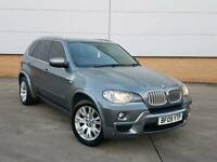 2009 BMW X5 3.0 35D XDRIVE M SPORT TWINTURBO DIESEL AUTO DOLPHIN GREY F.B.M.W.S.H FULLY LOADED