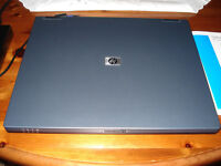 HP Compaq nx6110 Business Laptop/Notebook, with Windows 7 Pro & MS Office 2010.