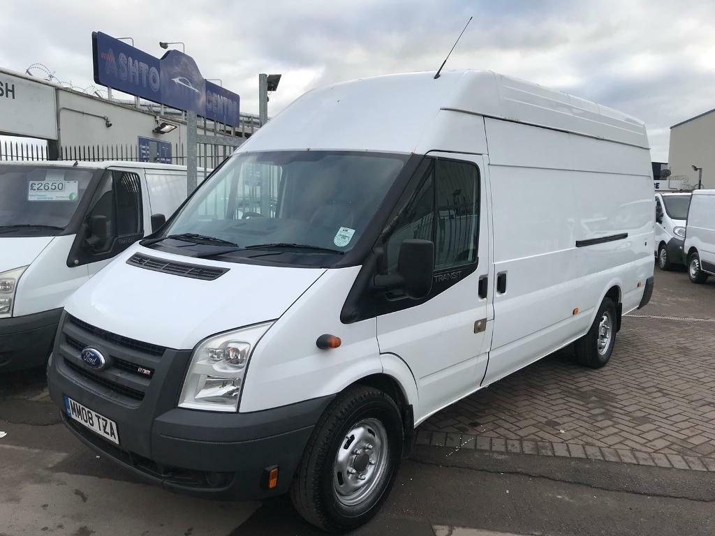 TRANSIT JUMBO XL WHEELBASE VERY TIDY CLEAN VAN IDEAL CAMPER CONVERSION PERFECT REMOVAL VAN !! NO VAT