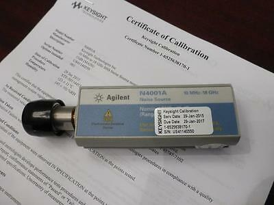 Agilent N4001a Sns Series Noise Source 10 Mhz To 18 Ghz Enr 15 Db - Calibrated