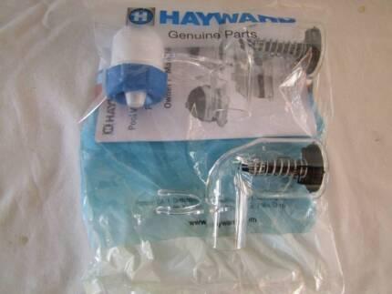 Hayward Pool Vac In Line Regulator Valve & Vacuum Gauge