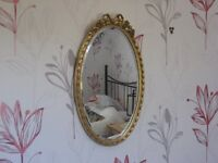 Mirror with Gilt Painted Frame