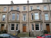 ROTHESAY TERRACE - West end flat with car space, quiet position with garden and private area