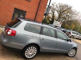Volkswagen Passat ESTATE CR 140 HIGHLINE 2009 ** DIESEL ** LEATHER SEATS ** 12 MONTH MOT ** 2 KEYS