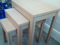 Nest of tables for sale