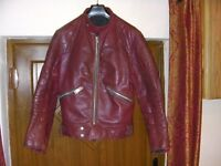 Vintage Motorcycle / fashion leather jacket