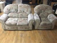 For sale Beautiful 2 seater and 1 chair in mint condition