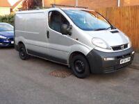 Vauxhall Vivaro Clean and tidy work horse