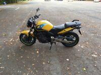 Honda CBf 600 40000 yellow