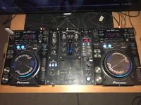 Pioneer CDJ400 / DJM400 Limited Package