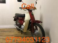 1985 red Honda 90 cub only 17000 miles Not many left about