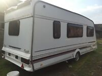 Swift challenger 520se caravan 1996 4/5 berth