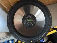 "FUSION 15"" SUB (MASSIVE BASS) GREAT PIECE OF KIT"