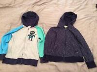 Boys zip hoodies