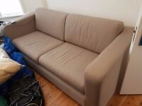 Habitat - Porto - Grey Fabric 3 Seater Sofa Bed