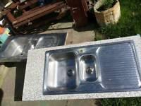 2 kitchen sinks