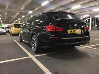 Bmw f11 M sport £140 tax (525d rare black) AUTO
