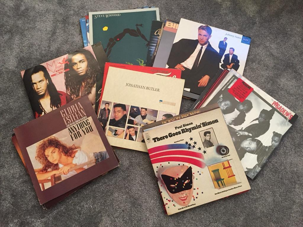 Record Collection- over 40 pop and rock lps mainly 80's £20 ono
