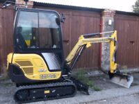 Mini Digger & Operator with CPCS card for Hire, East Kent