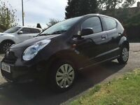2014 Black Suzuki Alto. Under warranty. Perfect 1st Car/cheap run around.