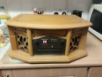 WOODEN RECORD PLAYER FOR SALE