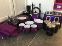 Black and Purple Kitchen Bundle