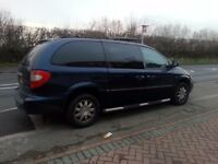 CHRYSLER GRAND VOYAGER LTD XS STOW N GO 2006 MPV 7 SEATER, NEW 1YRS MOT