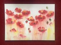 Floral canvas picture