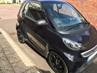 SMART FORTWO COUPE Grandstyle 2dr Softouch Auto 84bhp Turbo (black) 2014 - LOW MILEAGE!