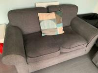 Grey 2 piece sofa
