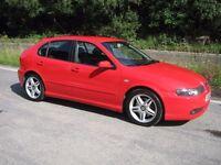 2003 Seat Leon Cupra 20V Turbo.FSH.Long MOT.Must be seen.