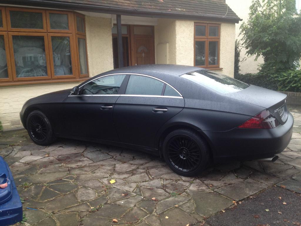Mercedes cls 350 auto matte black in edgware london for Mercedes benz matte black