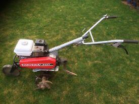 Honda petrol F501 rotovator, tiller