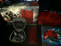 Xbox One S Gears Of War 4 Limited Edition Bundle 2TB + Elite Controller